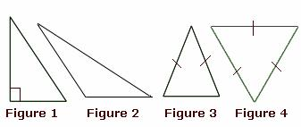 example of      Isosceles Triangle