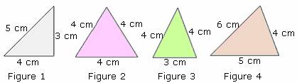 example of Scalene Triangle