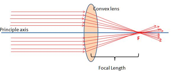 Definition of Convex Lens